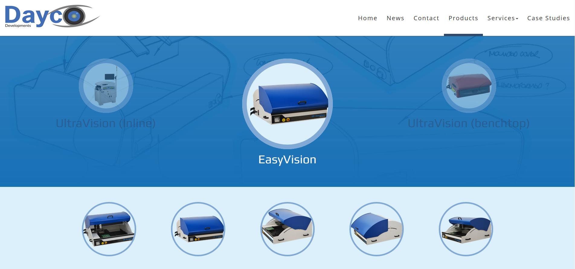 UltraVision, EasyVision, UltraVision Inline